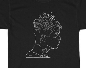 c665cd8fc XXXTentacion Long Live Sketch T-Shirt / Unisex Tee / Black, Brown, Grey,  Navy/ XS-5XL