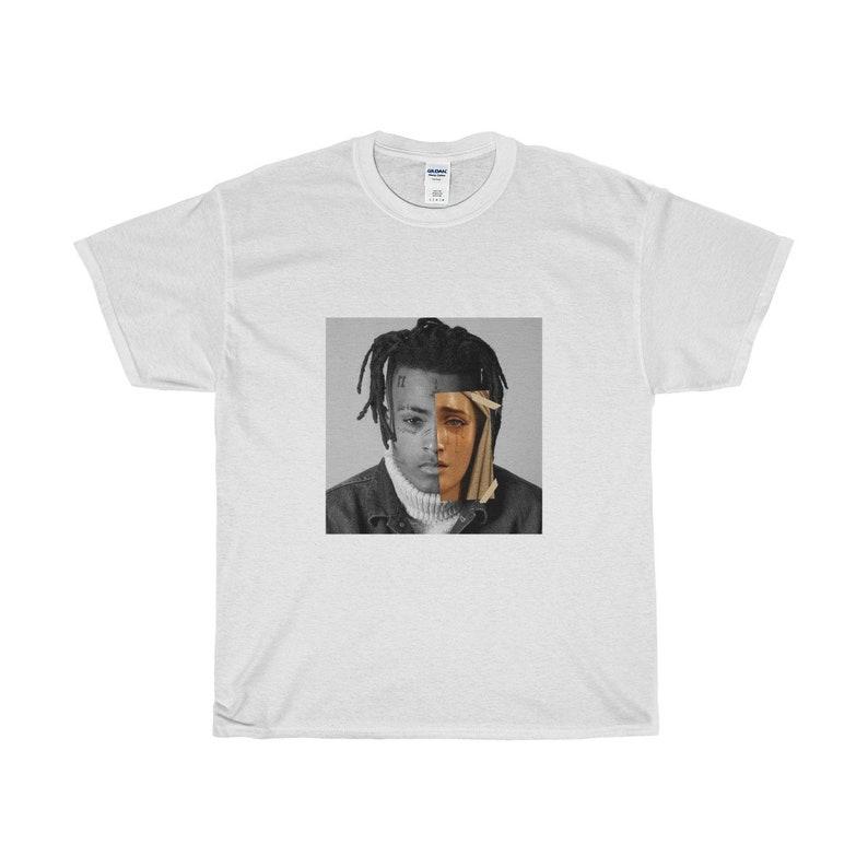 47dd17ce XXXTentacion T-Shirt / Unisex Tee / White Black / XS-5XL | Etsy