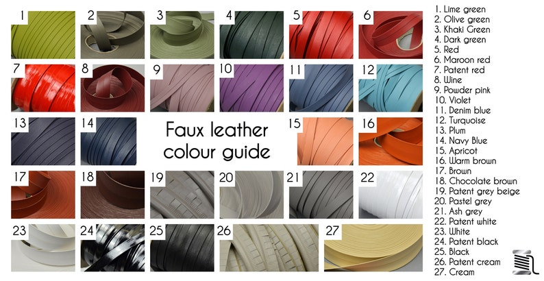 5mm Pastel Grey Cut Edge Faux Leather Piping Trimming Cord Flange Vegan Upholstery Embossed Welting Welt Sewing Fashion Costumes Boat Car