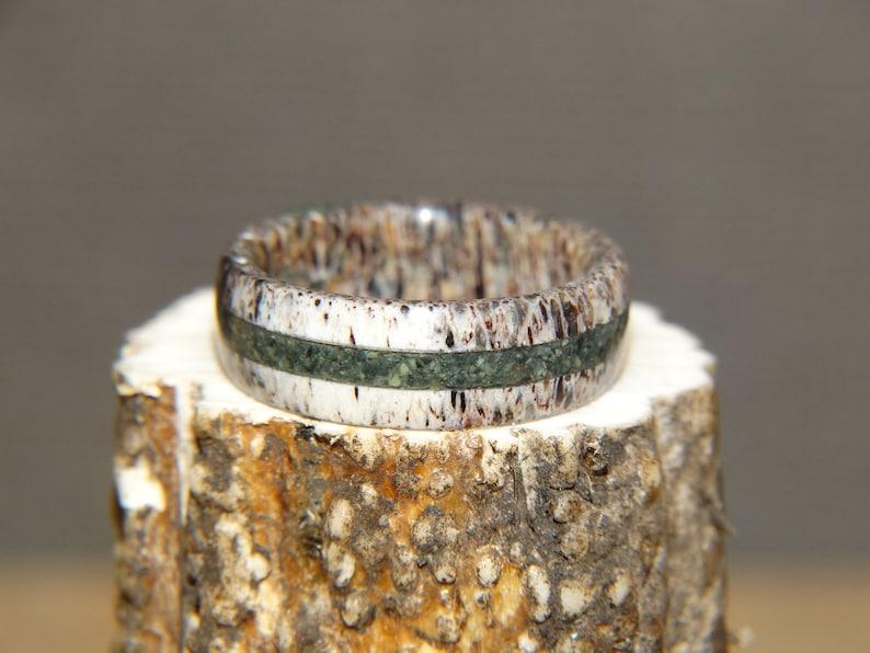 The Croc Deer Antler Antler Ring