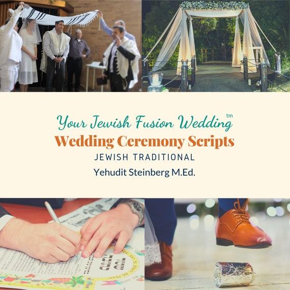 Jewish Wedding Vow Script Traditional Wedding Ceremony Instant Download