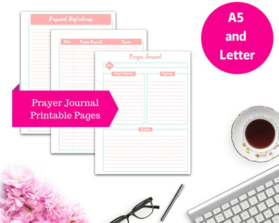 photograph relating to Printable Bible Journal Pages identified as Prayer Magazine Printable Planner Include Internet pages, Bible Printable, Printable Magazine, Bible Journaling Printable, Quick Obtain