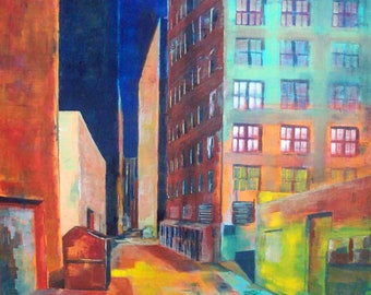 Signed Print: Cityscrape No.1