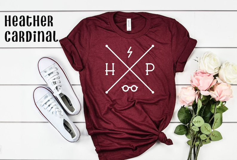 Harry Potter t-shirt in cardinal red.