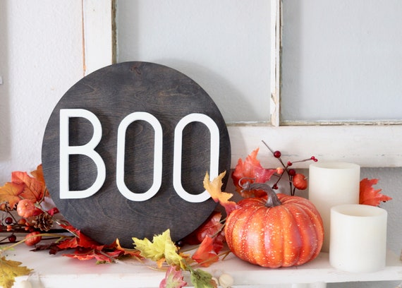 Boo Sign #Halloween