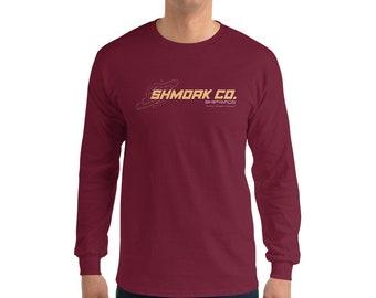 Shmork Co Shipyards Logo Men's Long Sleeve Shirt