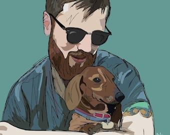 Portrait of You & Your Pet