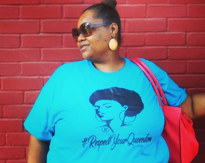RespectYourQueendom Womens Tshirt