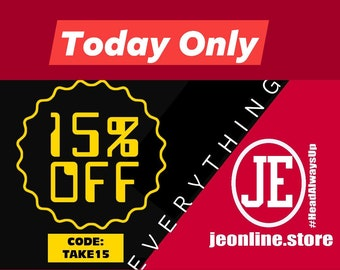 Get Instant 15% Off Everything! Code: TAKE15