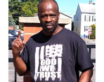 God WeTrust Mens Womens Unisex Christian T shirt