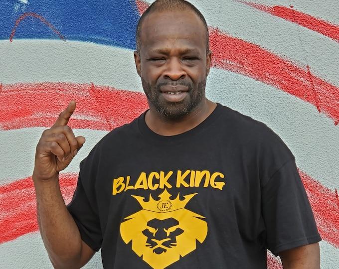 Black King Mens Tee