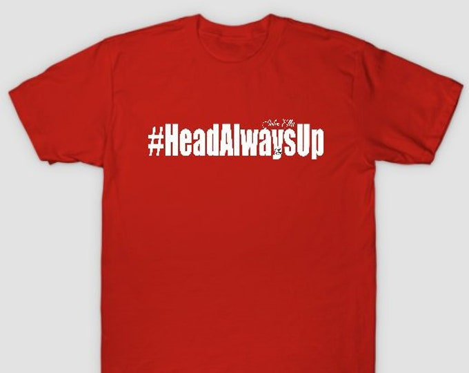 HeadAlwaysUp Mens (Unisex) T shirts