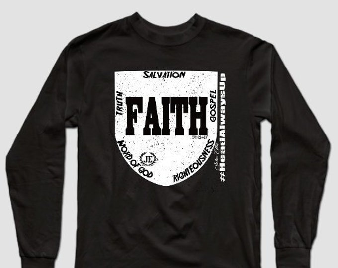 Shield of Faith Unisex Longsleeve Tshirt