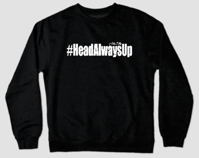 HeadAlwaysUp Mens Longsleeve (Unisex) T shirts