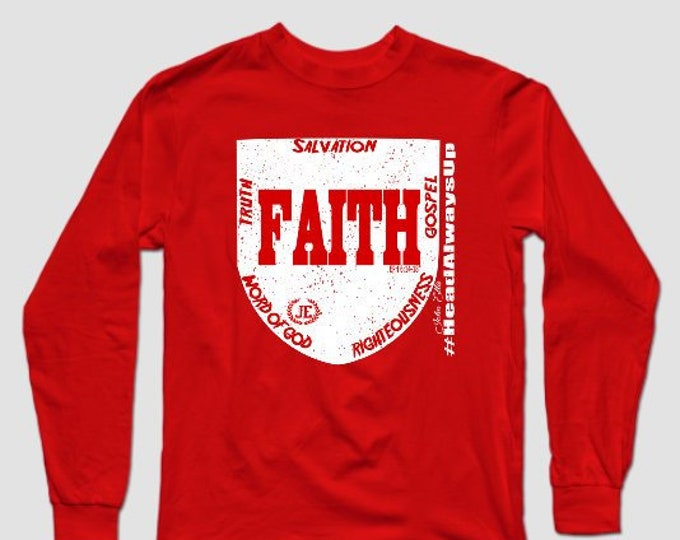 Shield of Faith Unisex Longsleeve Tshirt