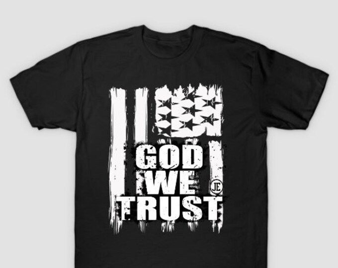 God WeTrust Mens Womens Unisex T shirt
