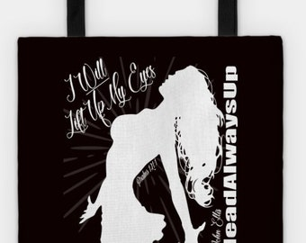 I Will Lift Up My Eyes Womens Handbag / Tote