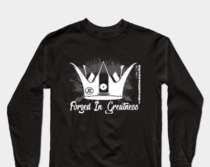 Forged In Greatness Womens Long Sleeve Tee