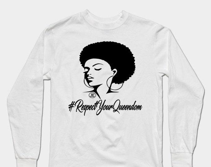 RespectYourQueendom Womens Tshirt Gifts Idea