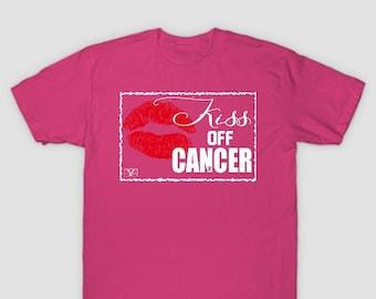 Kiss Off Cancer Awareness Tshirt