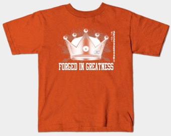 Forged In Greatness Gifts Kids T-Shirt