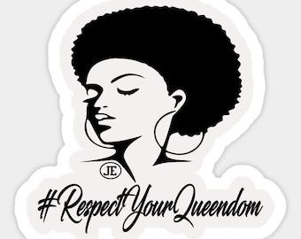 RespectYourQueendom Stickers