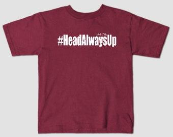 HeadAlwaysUp Kids T-shirt (Unisex)