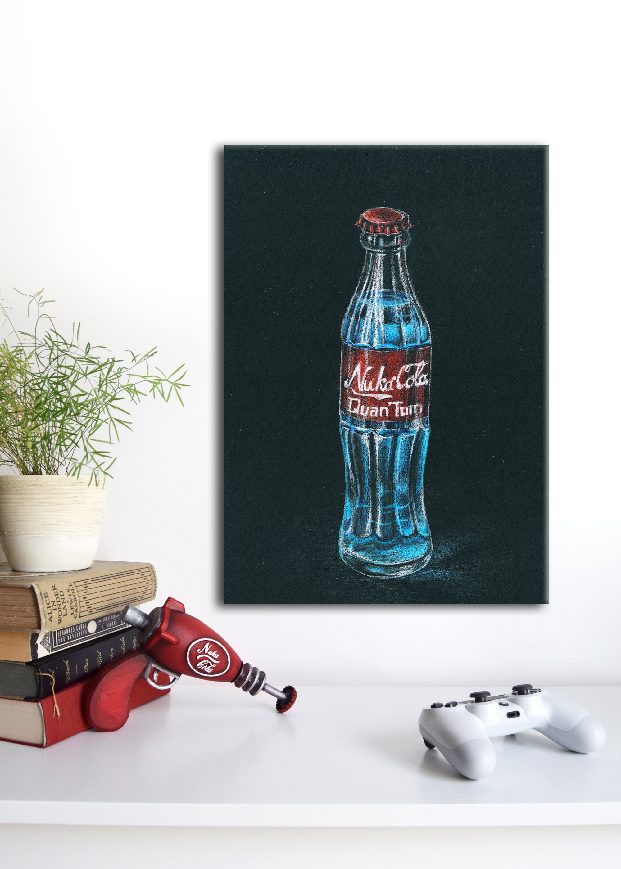 Fallout Nuka Cola Quantum Poster auf Leinwand 30 x 50 cm | Etsy