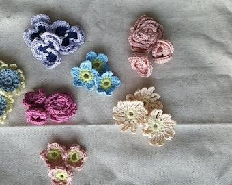 flowers baby wool