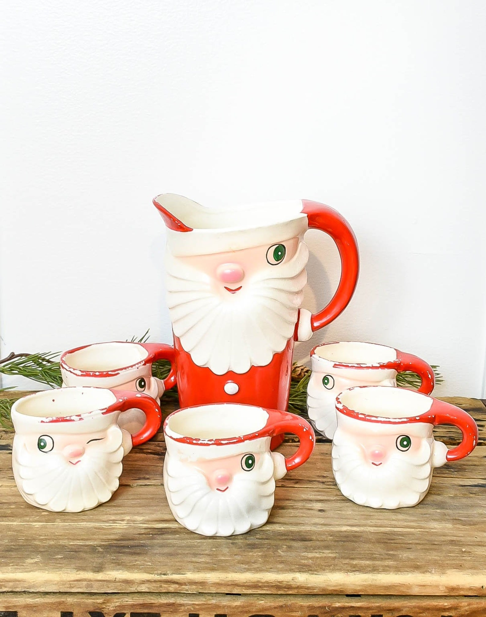 3D Santa Claus Mugs Page Five