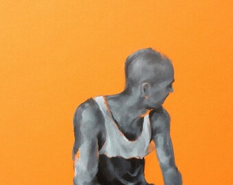 Signed - Limited Edition Giclee Print of Original Oil Painting - Figurative, Art, Wall Art, Gift