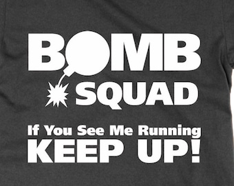 Image result for bomb disposal unit see me run keep up