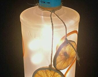 MALFEY ORANGE GIN Bottle light.