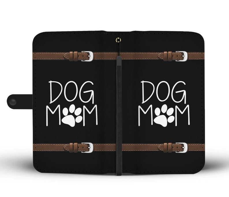 new concept 481af 2d1d5 Dog Mom Cell Phone Wallet Case, Dog Lover Gift Idea, Card Case iPhone  Samsung HTC Motorola LG Google Pixel Huawei Xiaomi