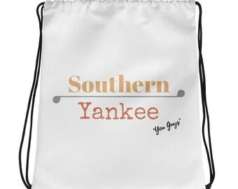 Southern Yankee Drawstring bag