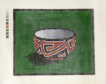 Cibicue: Robert Chapman hand painted needlepoint canvas