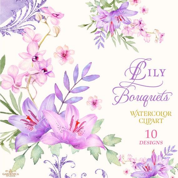 Lilium 'Stargazer' Flower Clip Art - Lily - Lilies Flowers Decoration PNG  Clipart Image Transparent PNG