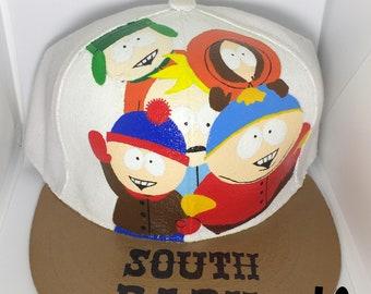 Handpainted South Park Snapback