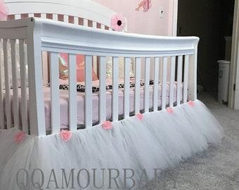 Crib Dust Ruffle Etsy