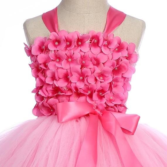 Royal Gift/&Craft Girls Layered Rainbow Tutu Skirt Dance Dress Ruffle Tiered Hairclip