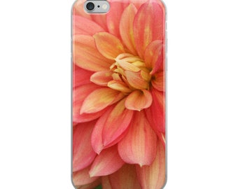 Coral Flower- Nature Photography iPhone Case
