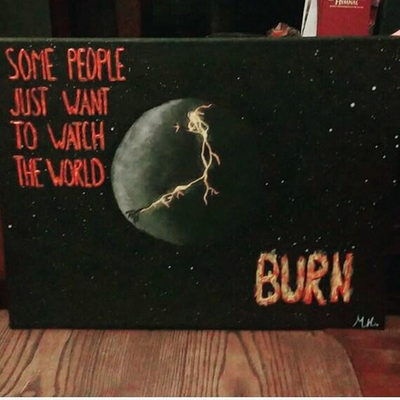Watch It Burn Etsy