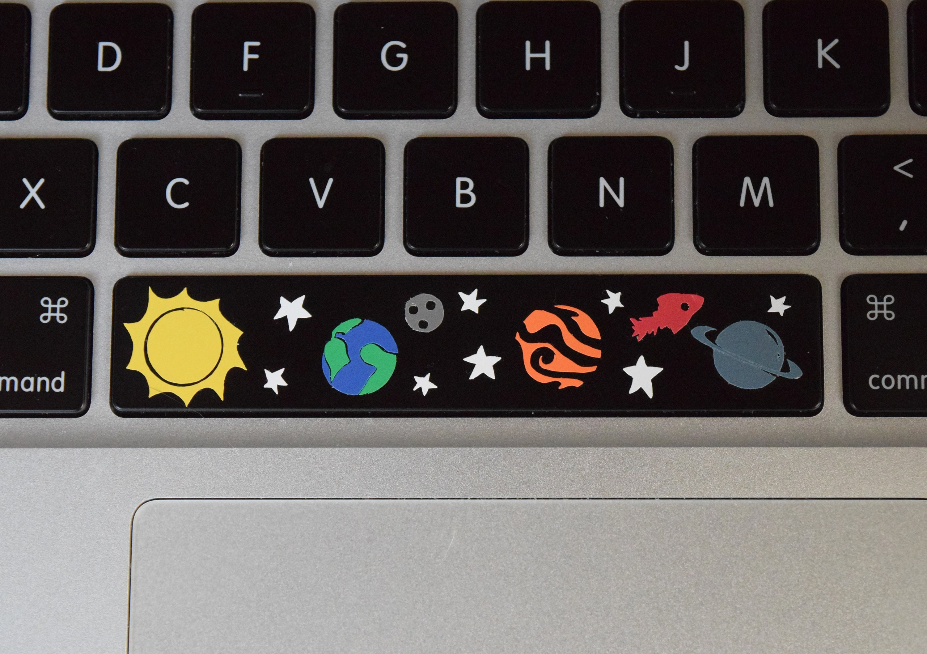 Classic Space Bar Sticker Space Bar Vinyl Decal Space Etsy