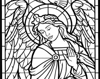 Stained Glass Coloring Pages Ideas - Whitesbelfast | 270x340