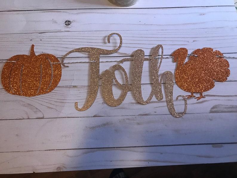 Friendsgiving Decor Thanksgiving Banner Custom Personalized Friendsgiving Banner Friendsgiving Decoration happy friendsgiving banner
