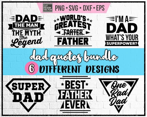 Father S Day Svg Father S Day Bundle Svg Etsy