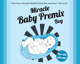 Miracle Baby Boy - Funny Gift Box