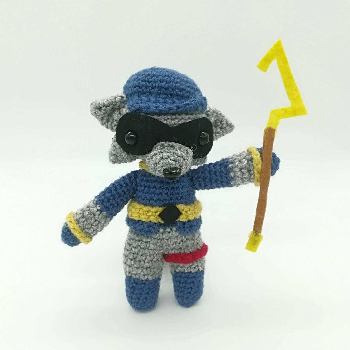 Sly Cooper Stuffed Animal, Sly Cooper Plush Handmade Etsy