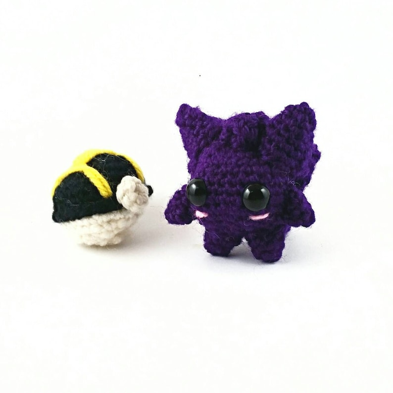 a2b6e22bfebd Gengar plush Ghost type pokemon