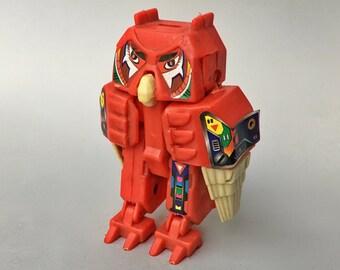 Vintage 1984 Convertors Avarians Hoot Owl Robot Transformer